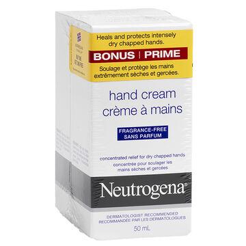 Neutrogena Norwegian Formula Hand Cream - Unscented - 2 x 50ml