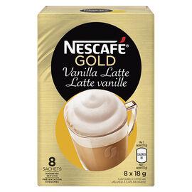 Nescafe Cappuccino Vanilla - 8 x 18.5g
