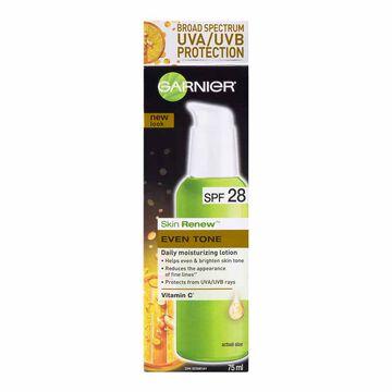 Garnier Nutritioniste Skin Renew Anti-Sun-Damage Daily Moisture Lotion - SPF28 - 75ml