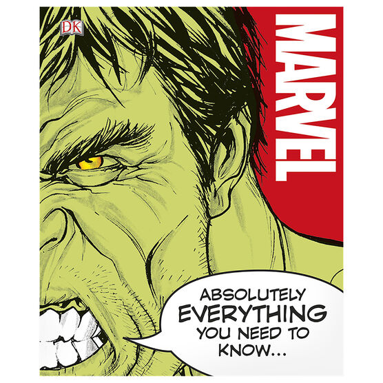 Marvel Absolutely Everything You Ever Need to Know