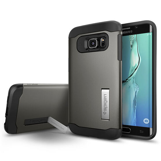 Spigen Slim Armor Case for Samsung Galaxy S6 Edge+ - Gunmetal - SGP11701
