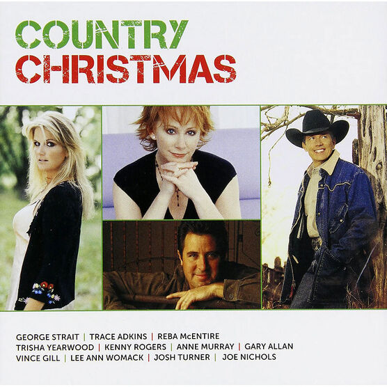 Various Artists - Icon Country Christmas - CD