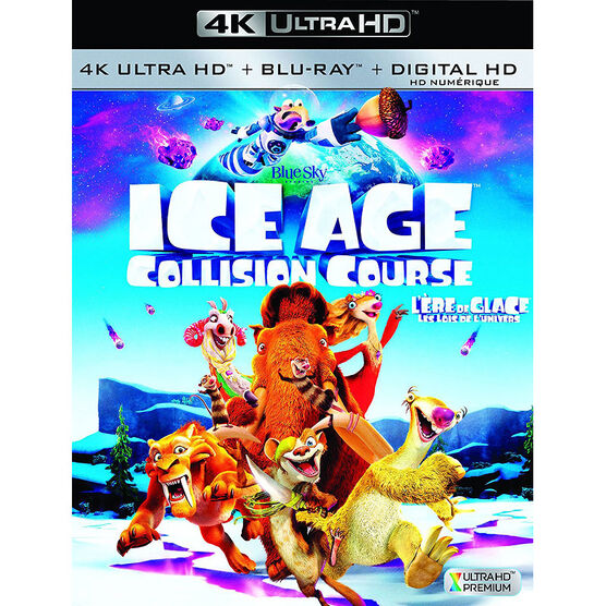 Ice Age 5: Collision Course - 4K UHD Blu-ray