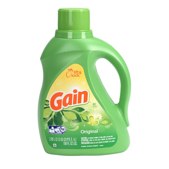 Gain Liquid Laundry Detergent - Original - 2.95L / 64 Use