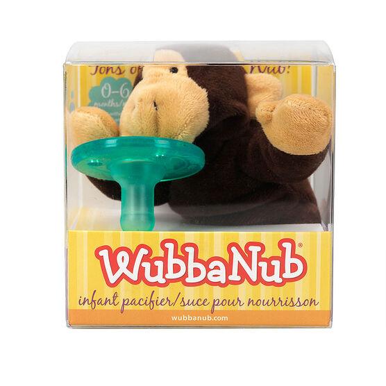 Wubbanub Infant Pacifier - 0-6 Months - Monkey