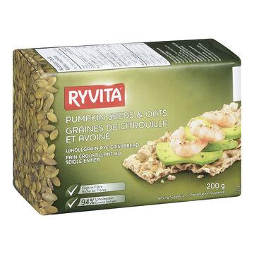 Ryvita Crispbread - Pumpkin & Oats - 200g