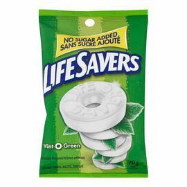 LifeSavers No Sugar Added Wint-O-Green - 70g