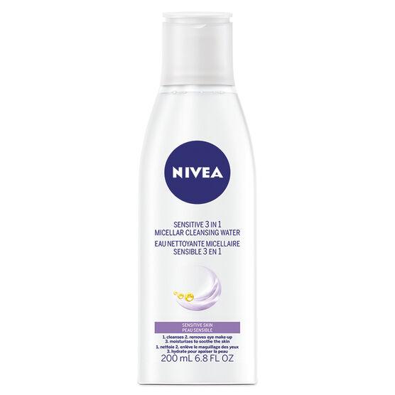 Nivea Sensitive 3in1 Micellar Cleansing Water - Sensitive Skin - 200ml