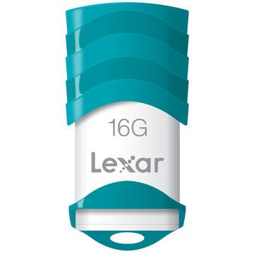 Lexar JumpDrive V30 USB 2.0 Flash Drive - 16GB - LJDV30-16GBABNL
