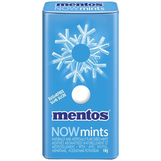 Mentos Now Mints - Fresh Mint - 18g
