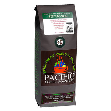 Pacific Whole Bean Coffee - Sumatra - 340g