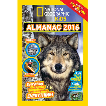 National Geographic Kids Almanac 2016 (Canadian Edition)