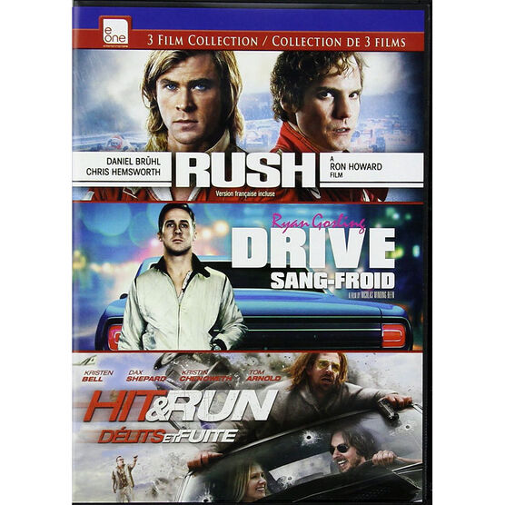 3 Film Racing Collection - DVD