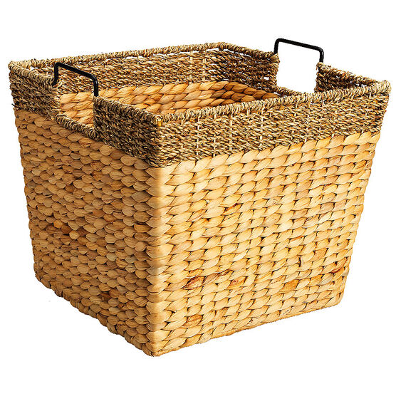 London Drugs Water Hyacinth Square Basket