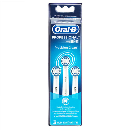 Oral-B Precision Clean Brush Heads - EB17-3 - 3 pack