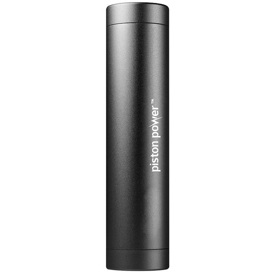 Logiix Piston Power 3400 mAh Portable Battery - Black - LGX12109
