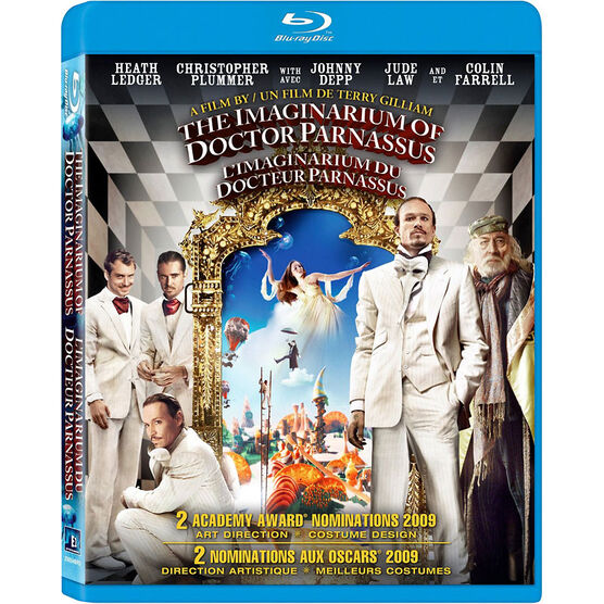 The Imaginarium Of Doctor Parnassus - Blu-ray