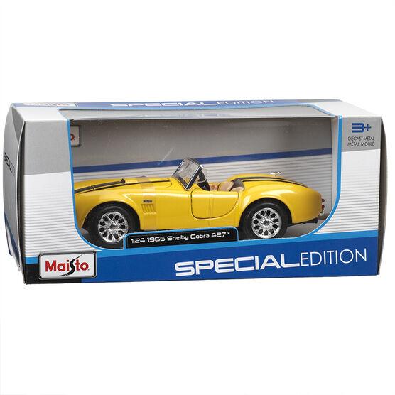 Maisto 1965 Shelby Cobra  - Yellow