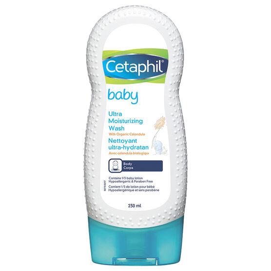Cetaphil Baby Ultra Moisturizing Wash - 230ml