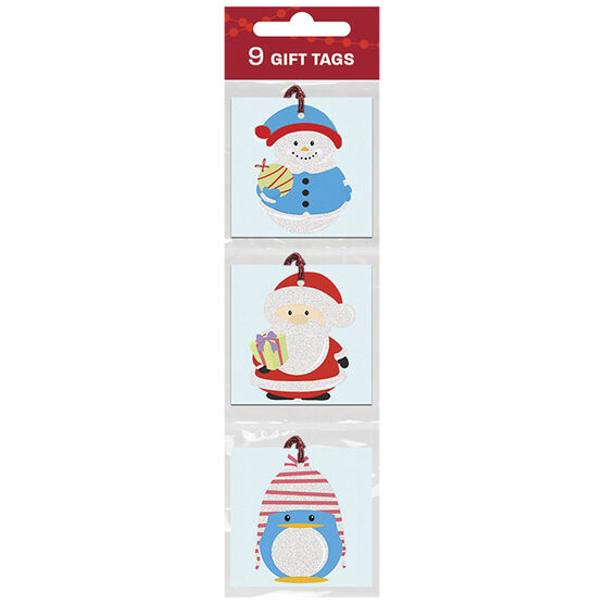 Christmas Whimsical Characters Gift Tags - 9s