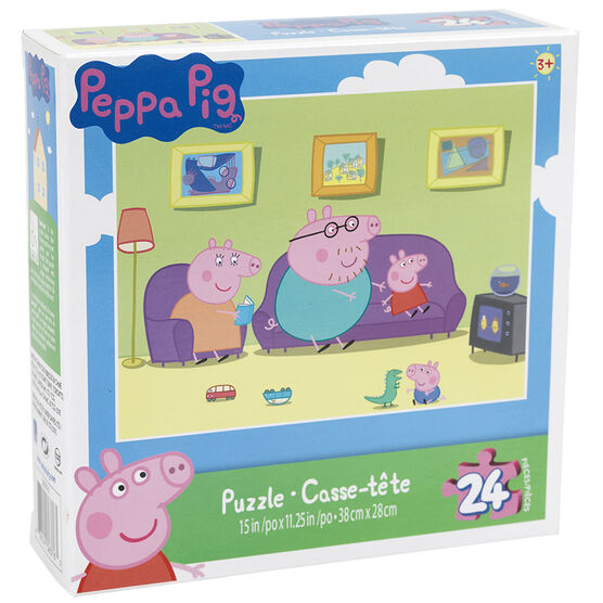 Peppa Pig Puzzle - 24 Pieces