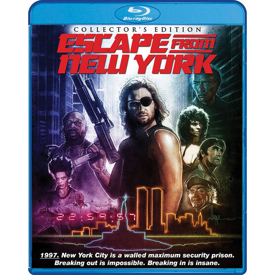 Escape From New York (Collector's Edition) - Blu-ray