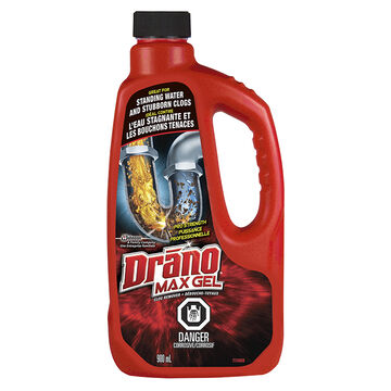 drano max gel 900ml london drugs. Black Bedroom Furniture Sets. Home Design Ideas