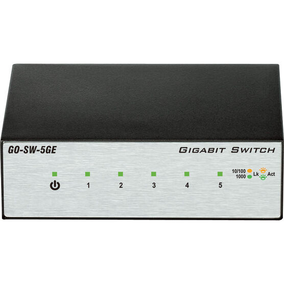 D-Link 5-Port Unmanaged Gigabit Metal Desktop Switch
