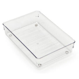 InterDesign Linus Drawer Organizer - Clear - Medium