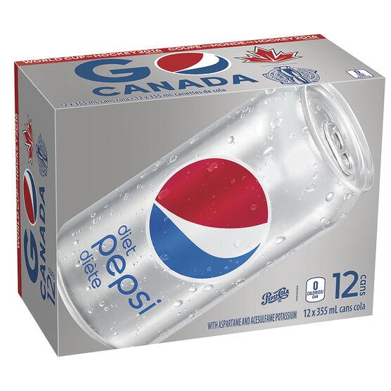Diet Pepsi - 12 pack