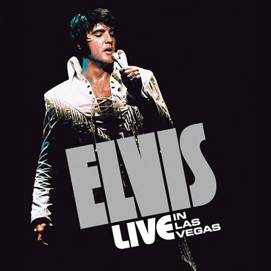 Elvis Presley - Live in Las Vegas - 4 CD Bookset