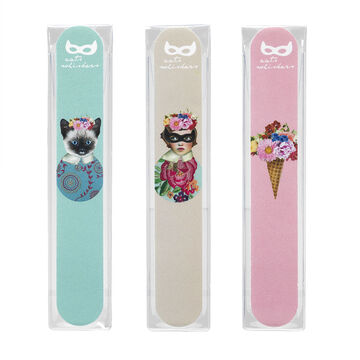 Star&Rose Cat Whiskers Emery Board Assorted