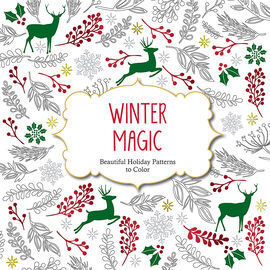 Holiday Patterns to Color - Winter Magic