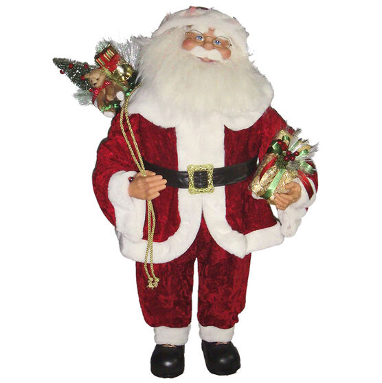 Animated Standing Santa - 90cm - XM-CH1813
