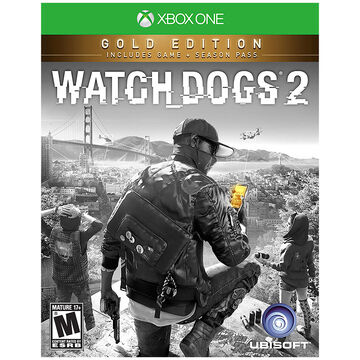 PRE-ORDER: Xbox One Watch Dogs 2 Gold Edition
