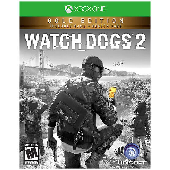 Xbox One Watch Dogs 2 Gold Edition