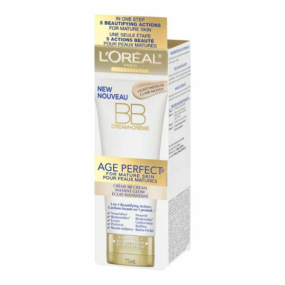 L'Oreal Age Perfect BB Cream - Light/Medium - 75ml