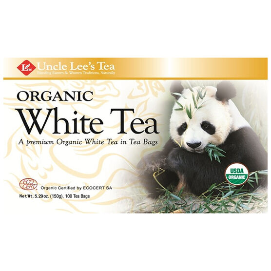 Uncle Lee's Tea - White - 100's