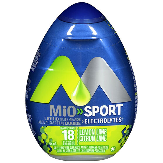Mio Liquid Sport Water Enhancer - Lemon Lime - 48ml