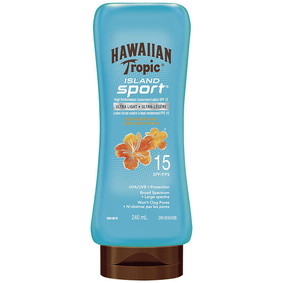 Hawaiian Tropic Island Sport Sunscreen Lotion - SPF15 - 240ml