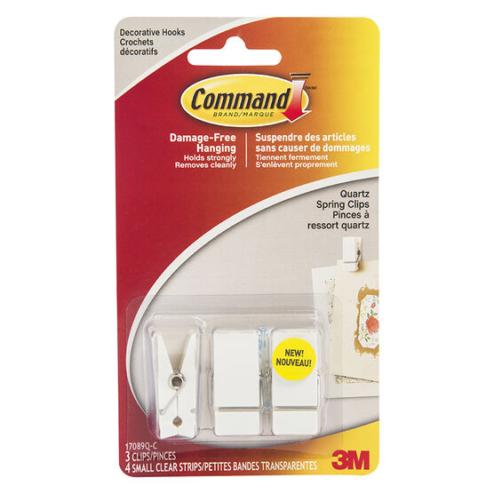 3M Command Spring Clips - 17089Q-C