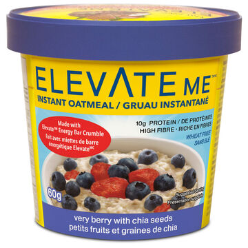 Elevate Me Oatmeal - Very Berry with Chia Seeds - 60g