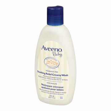 Aveeno Soothing Relief Creamy Wash - 236ml