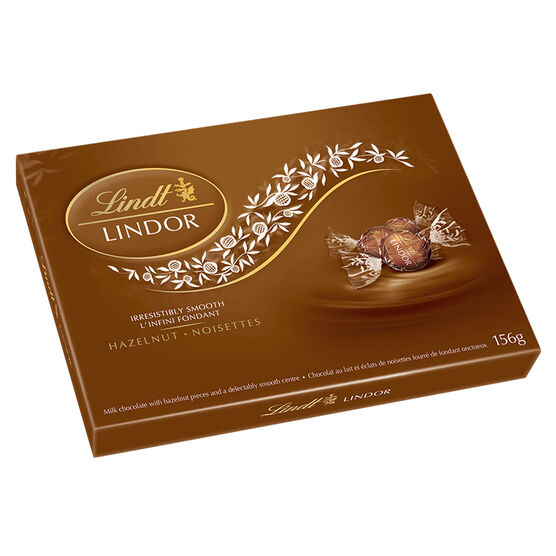 Lindor Hazelnut Chocolate - 156g Box