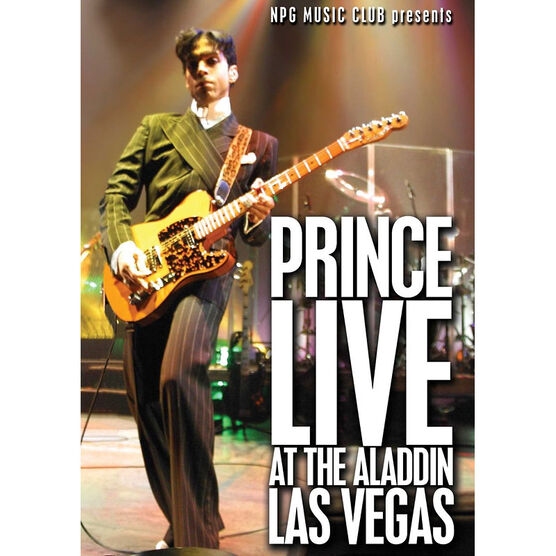 Prince: Live at the Aladdin Las Vagas - DVD
