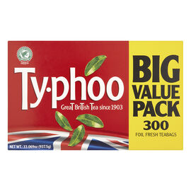 Ty-phoo Great British Tea - 300 Tea Bags