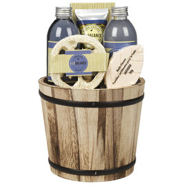 ECOBALANCE Basket Bath Gift Set Lavender - 6 piece