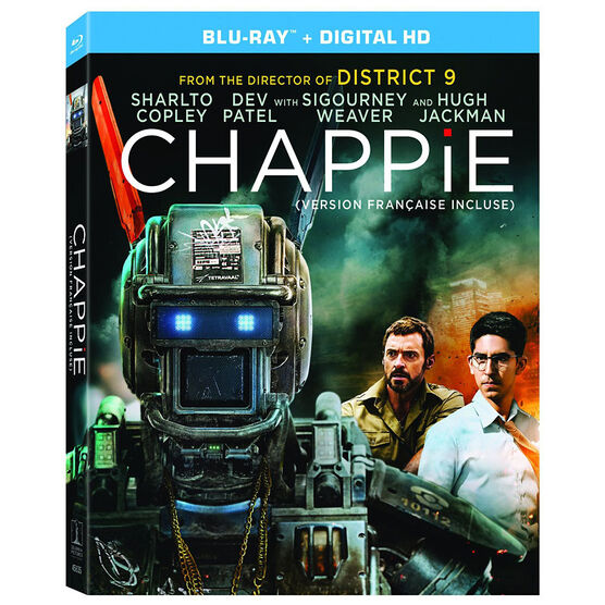 Chappie - Blu-ray + Digital HD