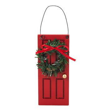 Winter Wishes Wooden Door Ornament - 5 in