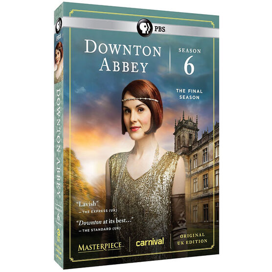 Downton Abbey: Season 6 - DVD